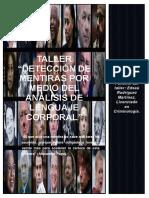 Taller Detección de Mentiras por Medio del Análisis de Lenguaje Corporal