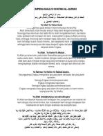 Doa Majlis Khatam Alquran