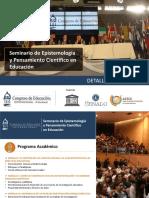 Seminario Epistemologia-grupo Congreso