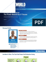 Network World Enterprise Architect Persona Survey, 2016