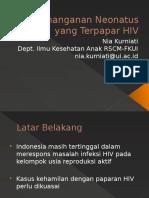 Penanganan Neonatus yang Terpapar HIV.pptx