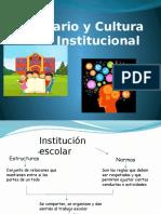 Cultura e Imaginario Institucional