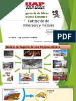 Comercializacion de Minerales UAP
