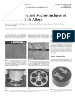 Metallography and Microstructures of Titanium