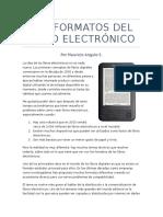 Los Formatos Del Libro Electrónico - Final