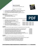 Uk Class Worksheet