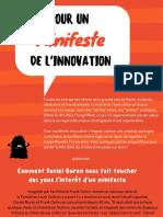 Pour un Minifeste de l'Innovation