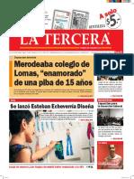 Diario La Tercera 28.06.2016