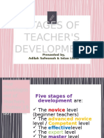 Stages of Teacher's Development