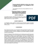 Constitución Chiapas 2016