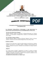 CONGRESO INTERNACIONAL DE EDUCACIÓN SUPERIOR.PORTUGUES