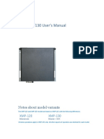 User Manual Xmp 120 130 Iad Dgs x12 10ep