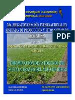 Desiminacion de Patogenos Del Suelo a Traves Del Agua de Riego