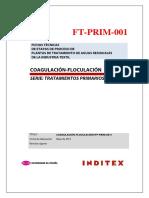 Coagulación-floculación