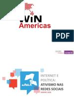 WIN IBOPE Conectai - Pesquisa NetAtivismo LatAm Junho 2016