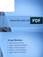 Jones Box and Label