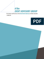 Report of the Independent Advisory Group