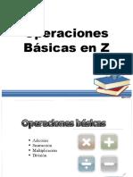 Operaciones Básicas en Z