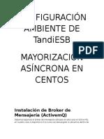 Configuración Ambiente Del Tandiesb