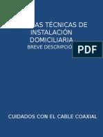 Normas Tecnicas de Instalacion Domiciliaria