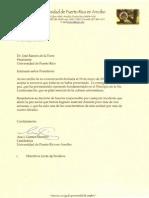 Carta Renuncia Rectora UPR Arecibo