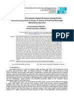 Article 06 Determinants of Corporate Capital Structure Among Private