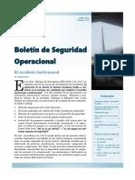 5ta. Edición del Boletín de Seguridad Operacional