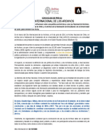 Comunicado de Prensa an y Afech Ok Fnl