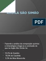 Argila São Simão