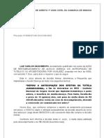Ação Restabelecimento Auxílio Doença(Luiz Carlos Nascimento) Petição Requerendo Multa Diária