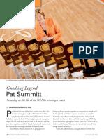 summary of pat summitt