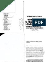 MOORE Jr, B. as Origens Sociais Da Ditadura e Da Democracia