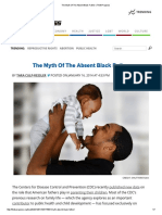 The Myth of the Absent Black Father _ ThinkProgress