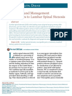 Spinal Stenosis Diagnosis