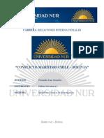 Conflicto Maritimo Entre Chile y Bolivia Monografia
