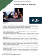 24-06-16 Impulsan gobernadores Pavlovich y Ducey, Mega-región Sonora-Arizona. -Critica