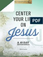Jesus-Centered Devotions
