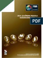 Sluzbena Kosarkaska Pravila 2014