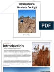 Introduction to Structural Geology