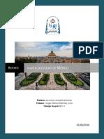 Reporte de viaje a la ciudad de México