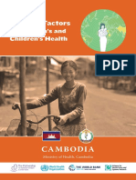 Cambodia Country Report
