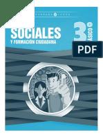 Libro 3º Básico Ciencias Sociales Editorial