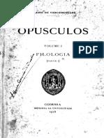 Leite de Vasconcelos_opusculos01