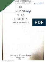 Herbert Butterfield-El Cristianismo y La Historia