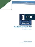Plano de Estudo 300 - OAB de Bolso