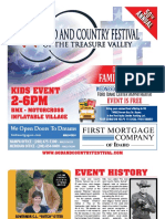 God and Country Festival 2016 - Tabloid