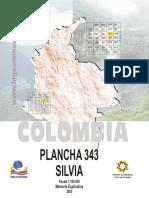 Silvia - Geologia Plancha 343