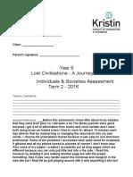 lost civilisations assessment - final  1