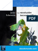 La Revolucion Tecnocientifica - Javier Echeverria