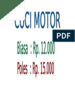 Cuc i Motor Poles